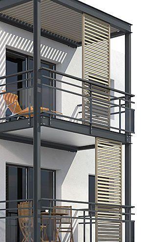 balcon | Façade maison moderne, Idées véranda, Maison d'architectu