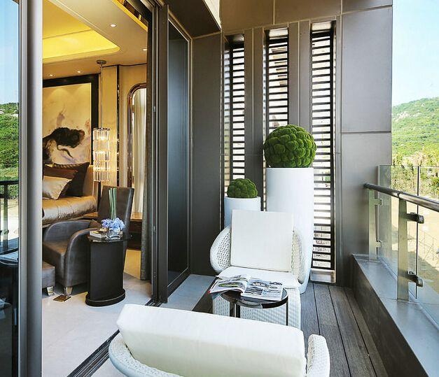 Modern Luxury balcony design | Modern balcony, Small balcony .