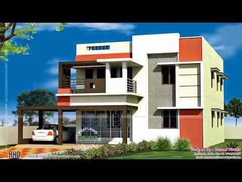 Indian House Front Balcony Design - YouTube | House balcony design .