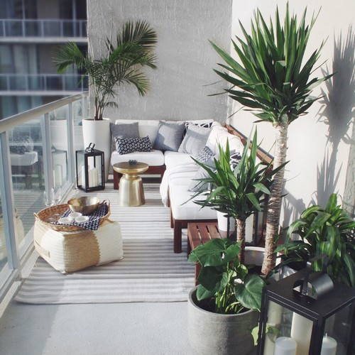 15 Balcony Furniture Ideas So You Can Rock Your Tiny Terrac