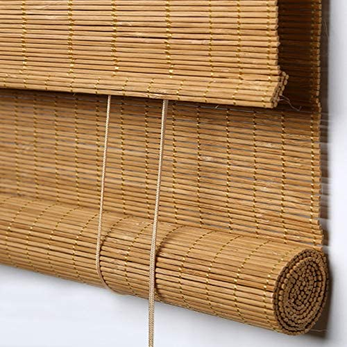Amazon.com: PASSENGER PIGEON Bamboo Outdoor Roller Shades, Water .