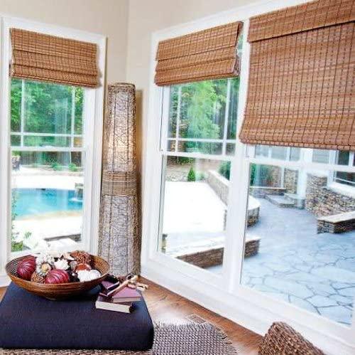 Amazon.com: Premium Bamboo Shades Dali Natural 35x60: Kitchen & Dini