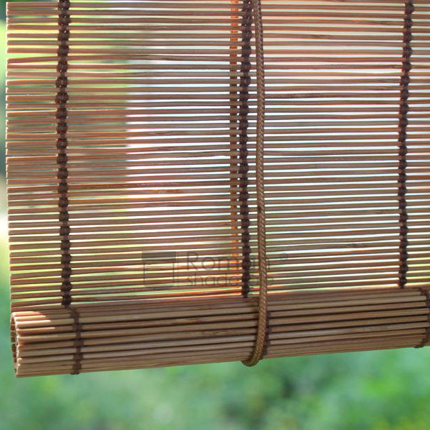 Natural Bamboo Matchstick Blinds Window Roller Shad