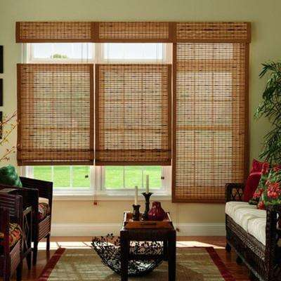 Brown - Bamboo Shades - Shades - The Home Dep