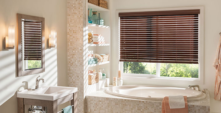 How to Buy Bathroom Window Blinds & Shades | Steve's Blinds .