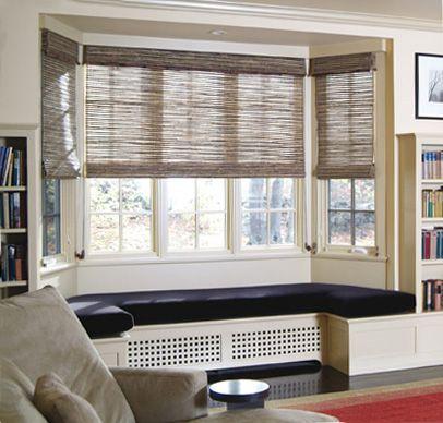 Bay Window Treatments – kadinhayat.org in 2020 | Bay window seat .