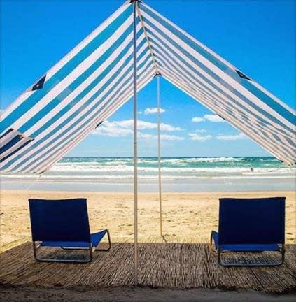 June & May Beach Canopy | Ja