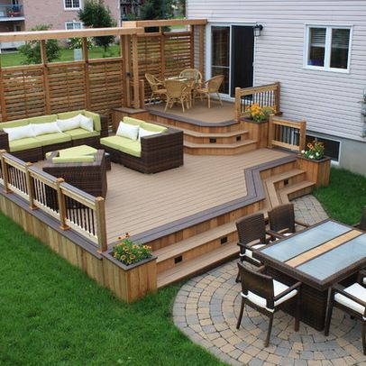 20 Timber Decking Designs that can Append Beauty of your Homes .