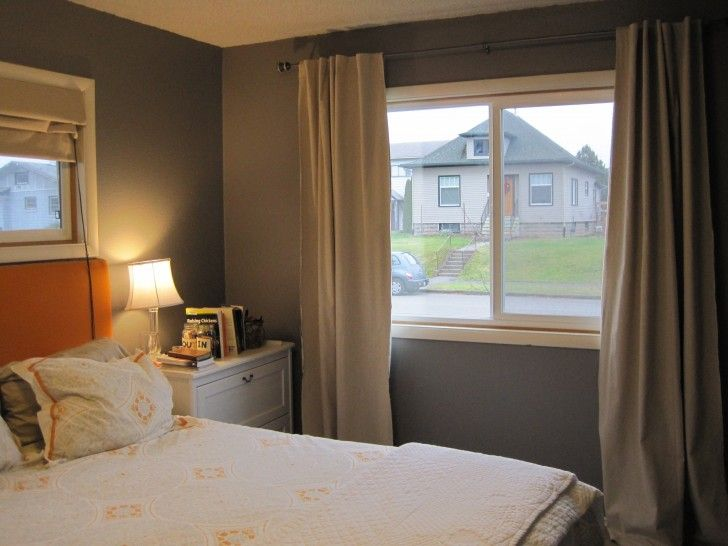 Curtains for Small Bedroom Windows   Window treatments bedroom .