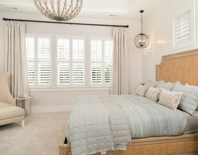 Should you mix and match your window treatments - Sunburst Shutte