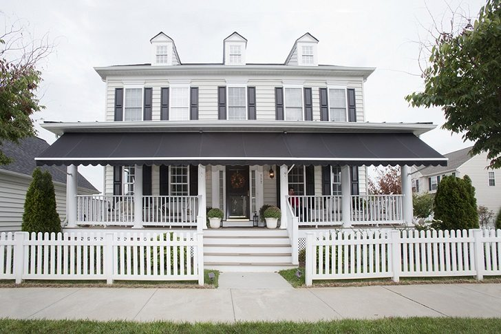 Porch awnings ideas – how to choose the best protection for your ho