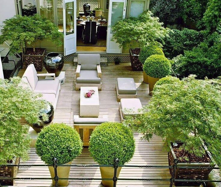 Flat Roof Design - Rooftop Garden PVC roof is best | Roof garden .