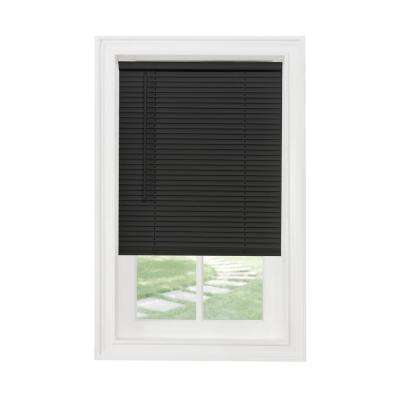 Mounted Frame - Black - Vinyl Mini Blinds - Mini Blinds - The Home .