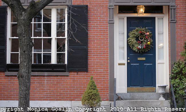 Boston, MA | Monica Goslin Photography | Red brick house, House .