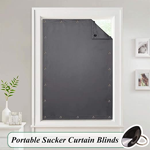 Amazon.com: StangH Portable Blackout Curtains Blinds - Temporary .