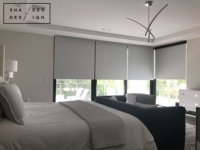 Motorized Blackout Shades, Pinecrest | Somfy shades In Pinecrest .