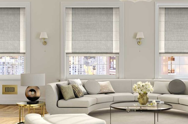 25 Blind Designs For Living Room Windows - The Architecture Desig
