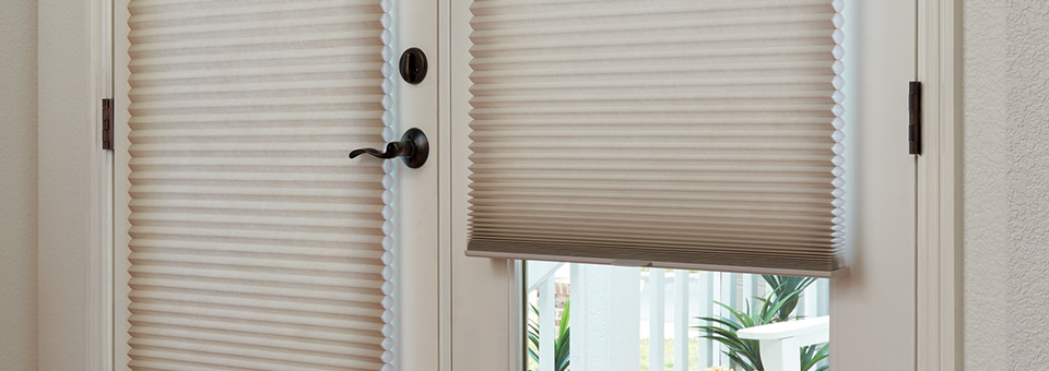 French Door Shades, Shutters & Blin