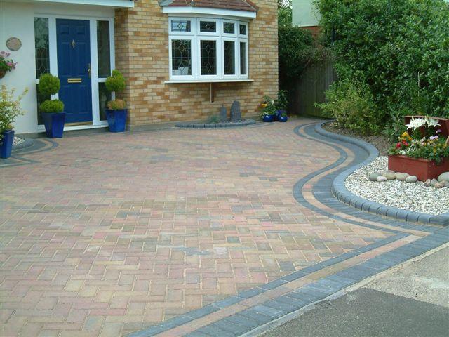 Double border | Front yard landscaping design, Front garden design .