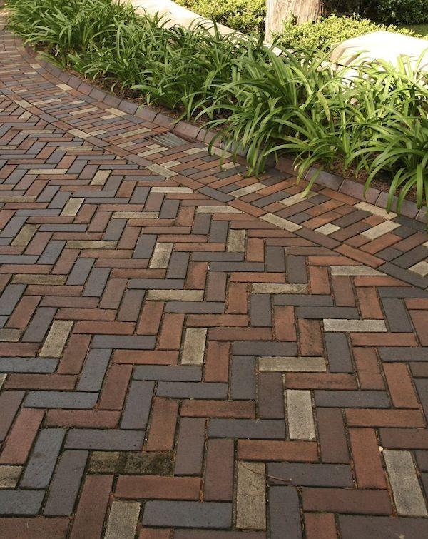 Paving tricks | Brick paving, Backyard landscaping, Driveway pavi