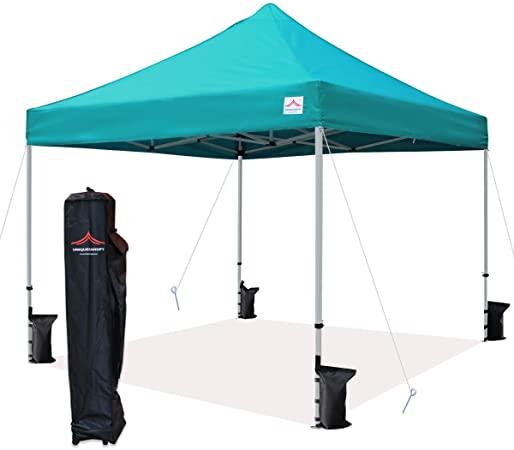 Amazon.com : UNIQUECANOPY 10'x10' Ez Pop Up Canopy Tent Commercial .