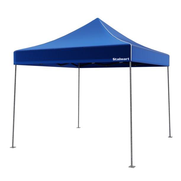 Stalwart 10' x 10' Outdoor Instant Canopy (Blue) - Walmart.com .