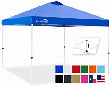 Amazon.com : EAGLE PEAK 10' x 10' Pop Up Canopy Tent Instant .