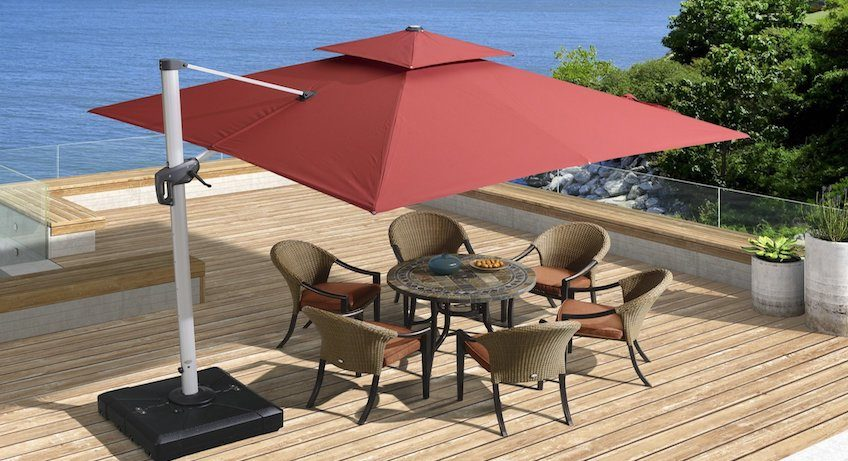 Best Cantilever Umbrella Reviews. Top Tips for Buying Patio .