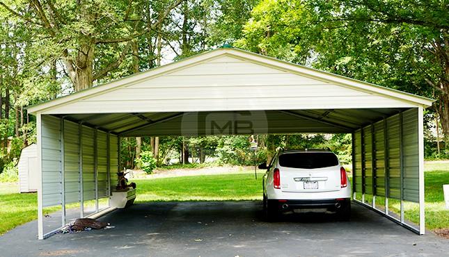 Double Carports | Two Car Carports | 2 Car Metal Carport Pric