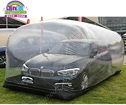 Amazon.com: PVC Inflatable Car Shelter Car Capsule Showcase .