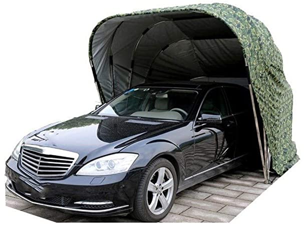 Amazon.com: Krfrl Semi-Automatic Folding Carport Car Shelter,Car .