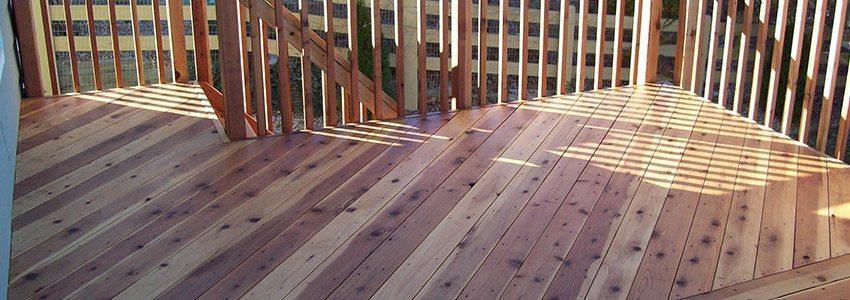 A Cedar Deck vs. Pressure- Treated vs. Composite: Choosing The .