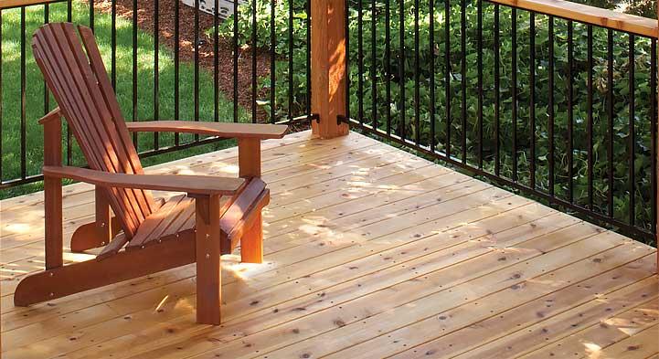Decking - Incense Cedar : C&D Lumber C