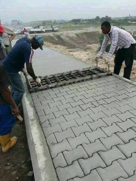 Cement Pavers and Step Stones how it's made - 9b