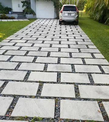 concrete pavers 24x24x2 Driveways patios $20 /4 sq.ft ea. *80 lbs .
