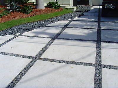 """Cement outdoor concrete 24""""x24"""" tiles/pavers $2.49 per sf ."""