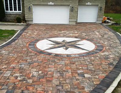 "5 Thick 12x12x3"" Cement Driveway Paver Molds Make Opus Romano ."