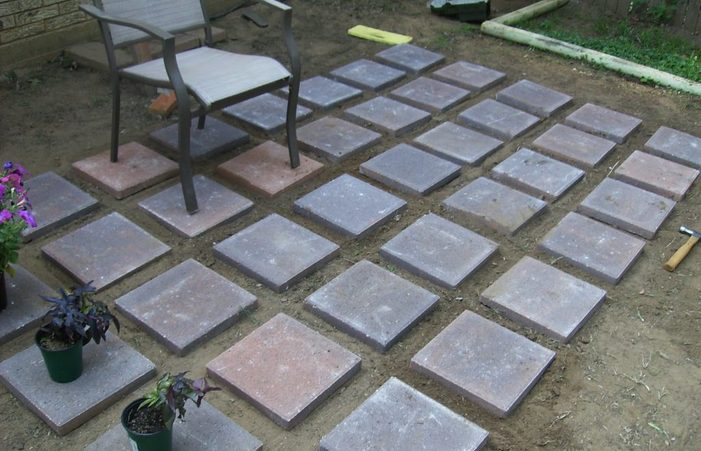 Home Elements And Style Cement Patios Pictures How To Build A Deck .