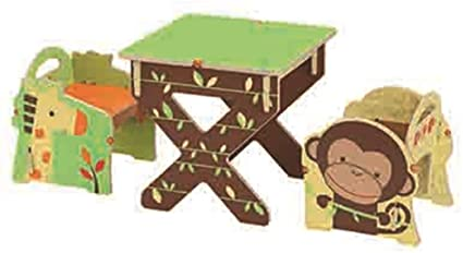 Amazon.com: Buildex Bianchi Safari Adventure Table and Chair Set .