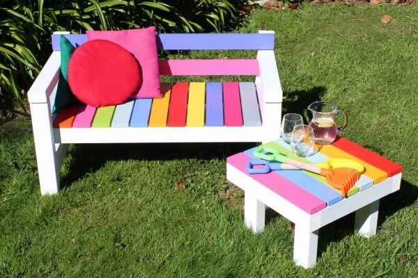 Build your own... children's furniture | Kids outdoor furniture .