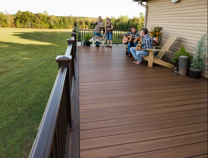 Pairing Different Colors of Composite Decking | Envision Decki