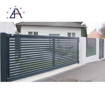 Brilliance good prices composite fencing picket gates aluminium .