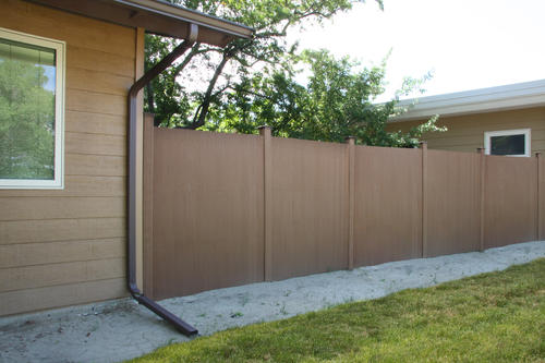 100' Privacy Composite Fence Material List at Menards