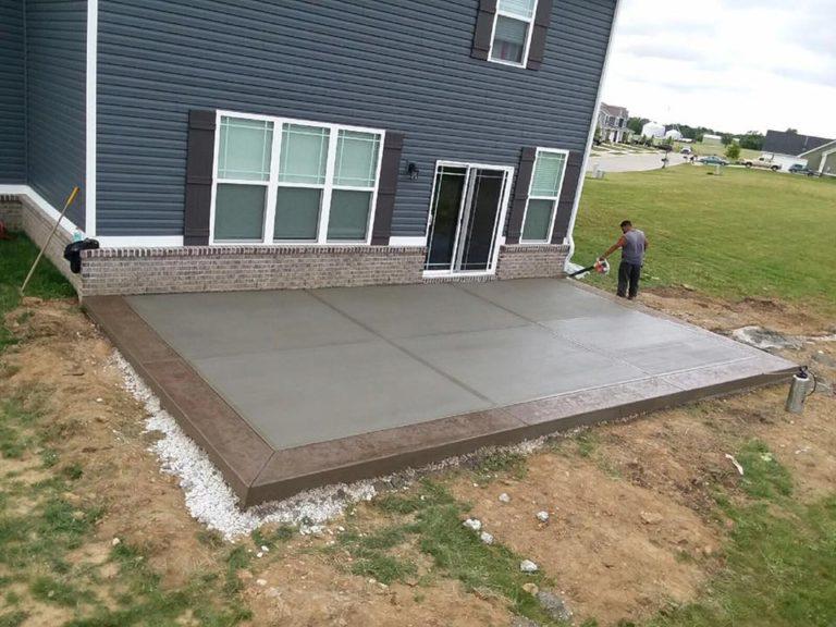 Concrete Patios in Indianapolis - Warren
