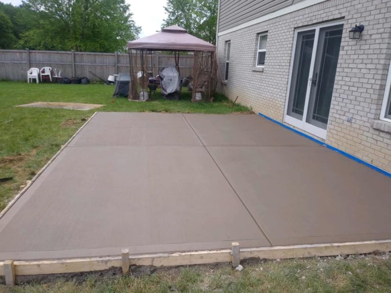 Concrete Patios in Indianapolis - Warren