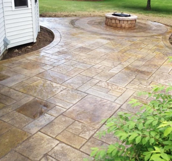 Patio Companies Stamped Concrete Sealed Concrete Deck Contractors .