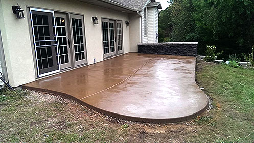 Concrete Patio Denver | Stone and Concrete Denv