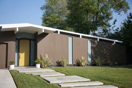 Modern Concrete Paver Walkway Ide