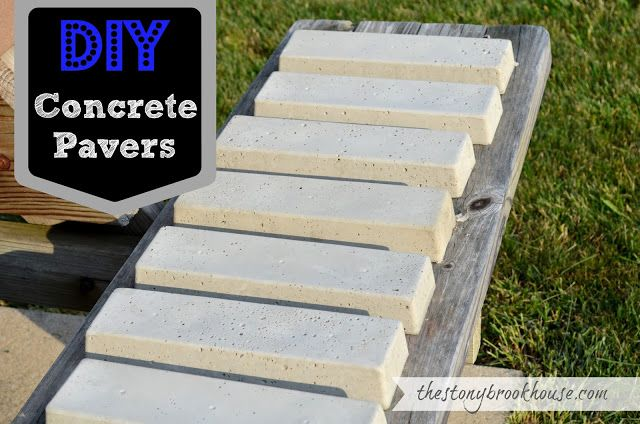 DIY Concrete Pavers | Concrete pavers diy, Pavers diy, Concrete gard