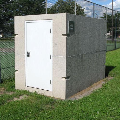USI - Utility Structures Inc. - Precast Concrete - Storage She